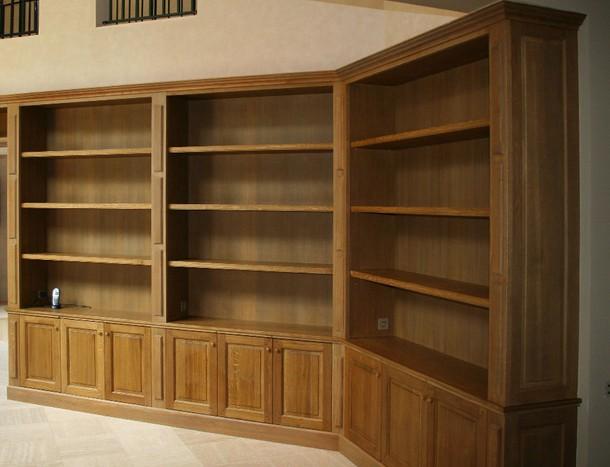 Librerie in legno su misura- Il luogo dove conservare i libri ...