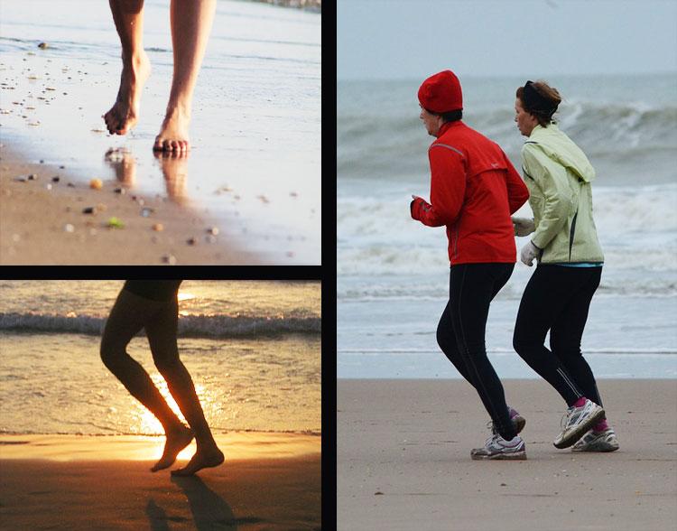 Piedi di fungo di trattamento di gambe
