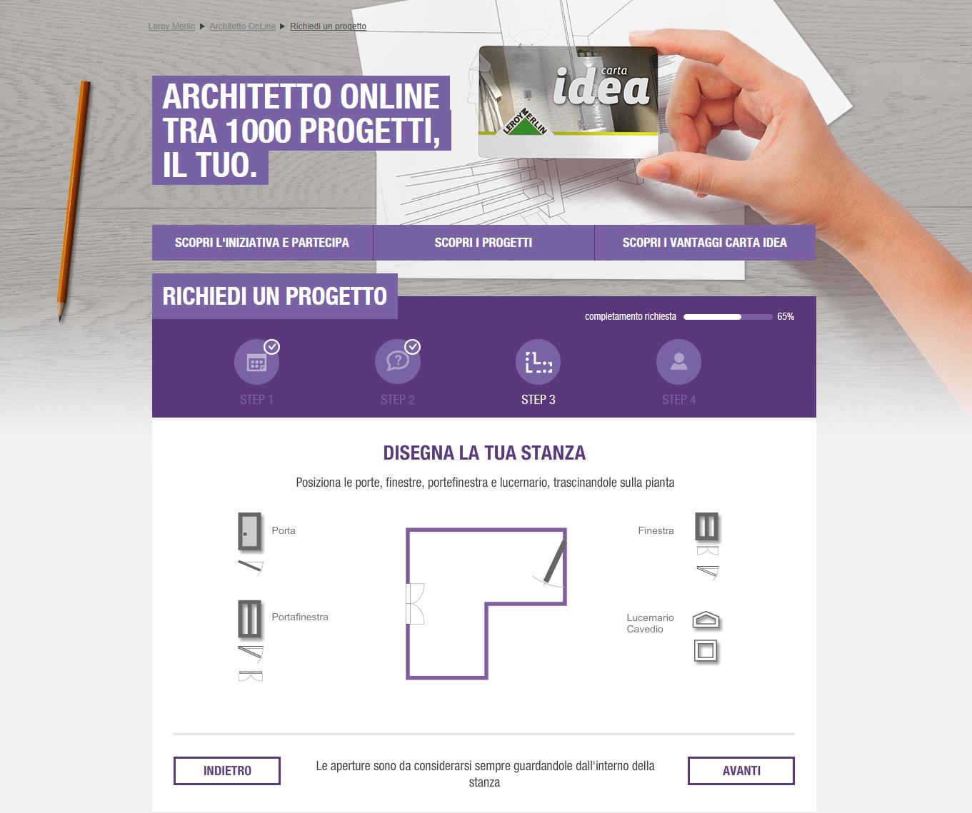 Il tuo bagno con Leroy Merlin Architetto Online: mille progetti e un ...