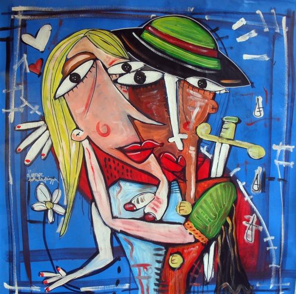Quadri moderni dipinti a mano artista Alessandro Siviglia - Arte e ...