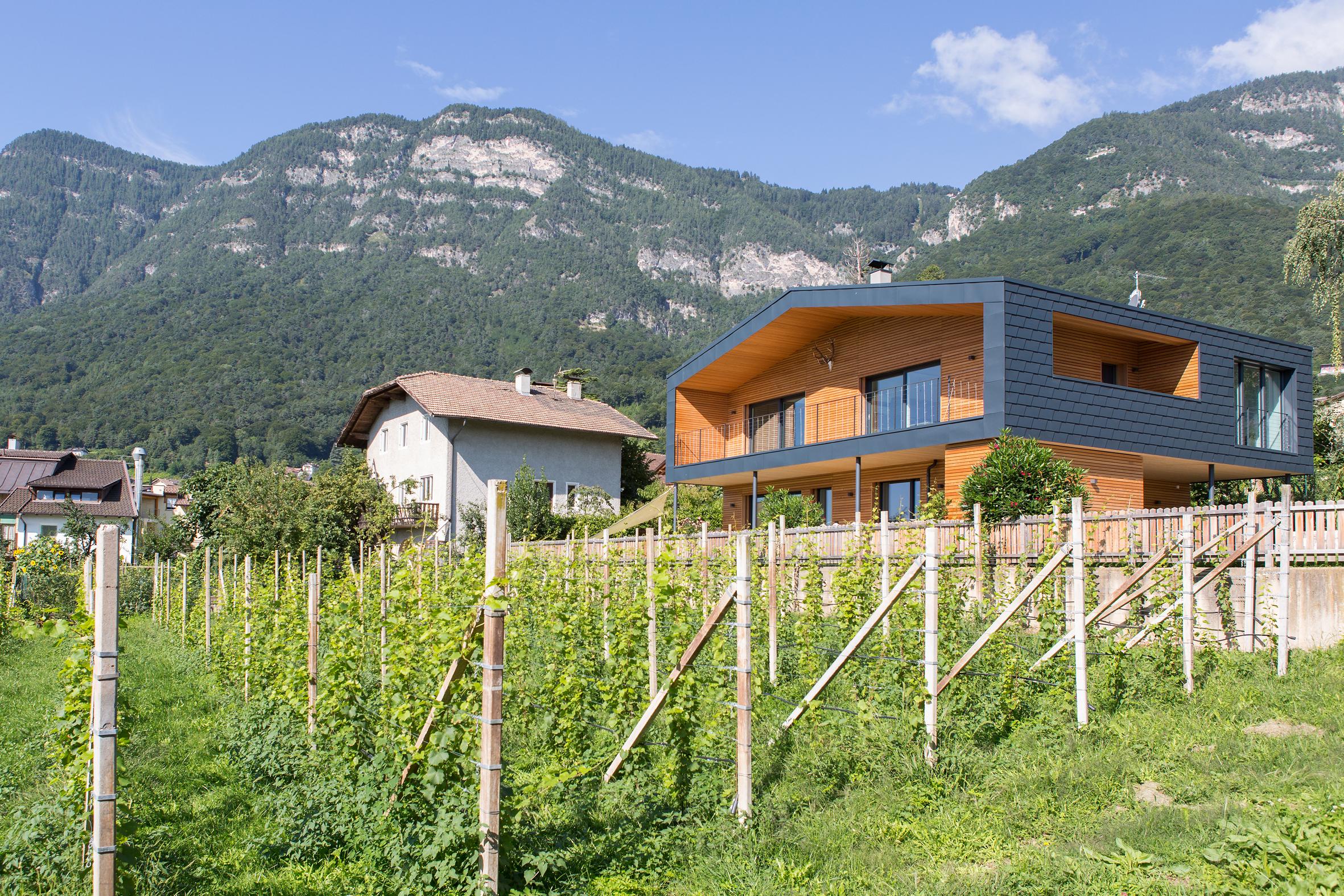 Casa kato l abitazione cambia volto progetto di ampliamento e ristrutturazione di una villetta - Ampliamento casa ...