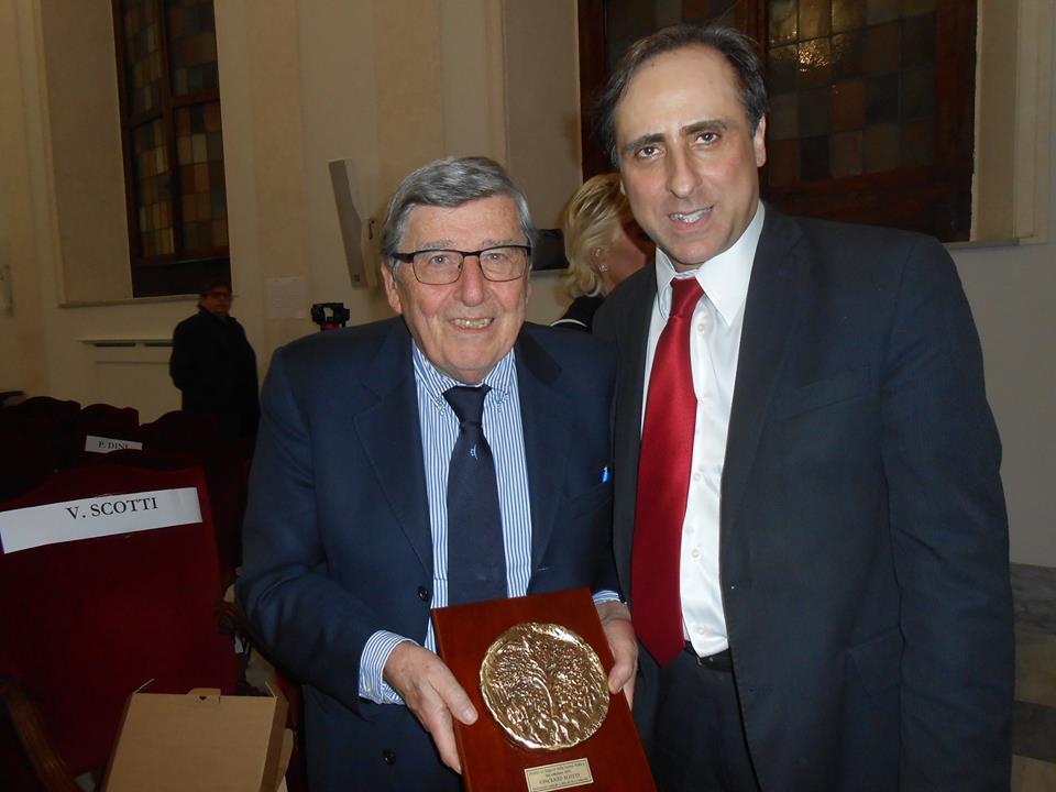 Vincenzo Scotti e Antonello De Pierro