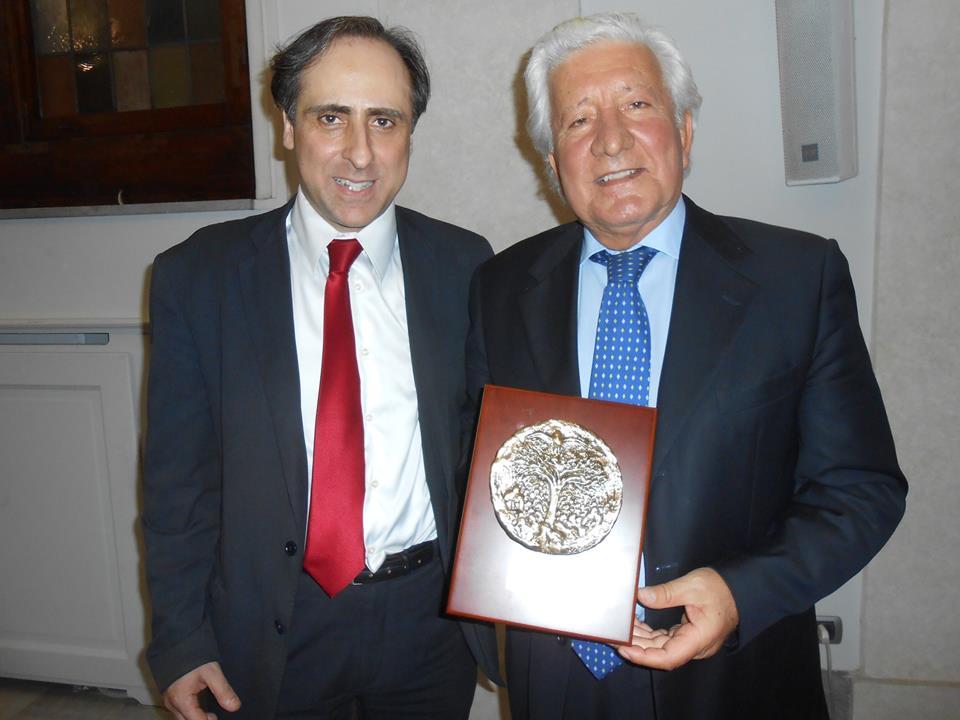 Antonello De Pierro e il giudice Antonio Marini
