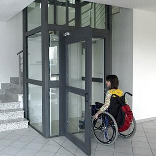 Ascensori per disabili misure e tipologie altro for Dimensioni ascensore