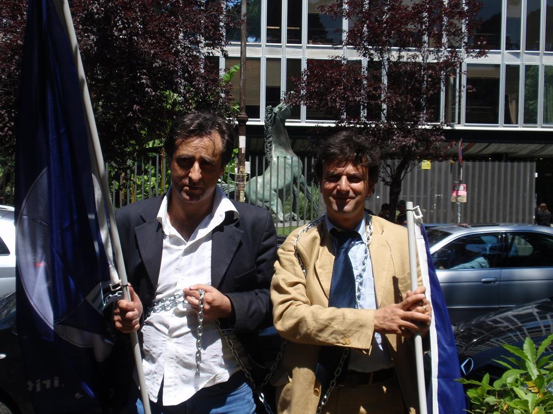 Antonello De Pierro e Vittorio Marinelli