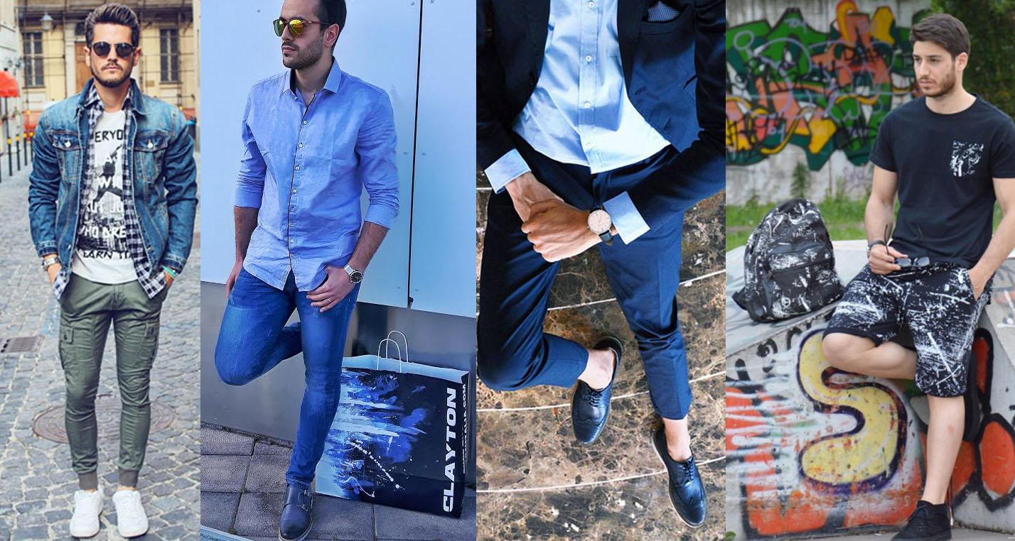 """Conosciuto 8 outfit da uomo e 3 """"moment for look"""" raccontati da 4 fashion  EW66"""