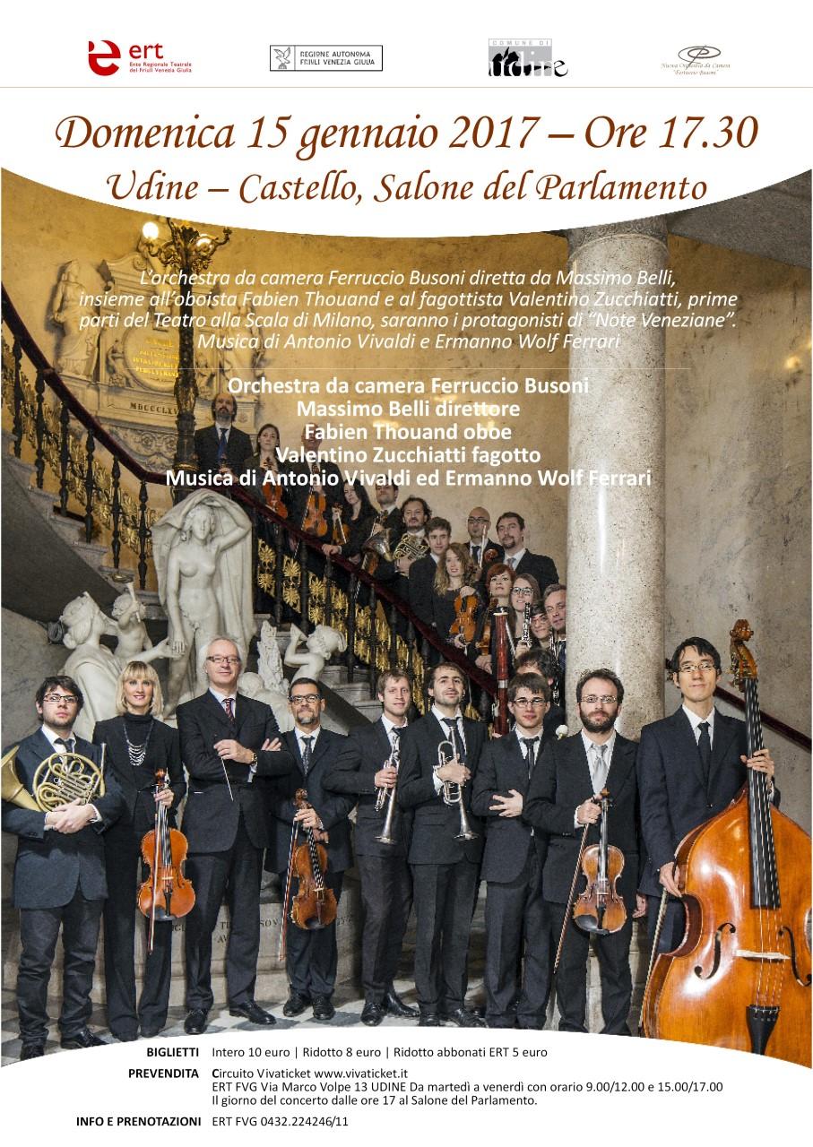 L 39 orchestra ferruccio busoni in concerto a udine eventi for Diretta dal parlamento