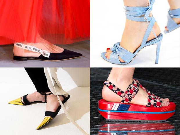 Tornare alle scarpe di moda è la vera tendenza per la primavera estate 2017  c3057dbc458