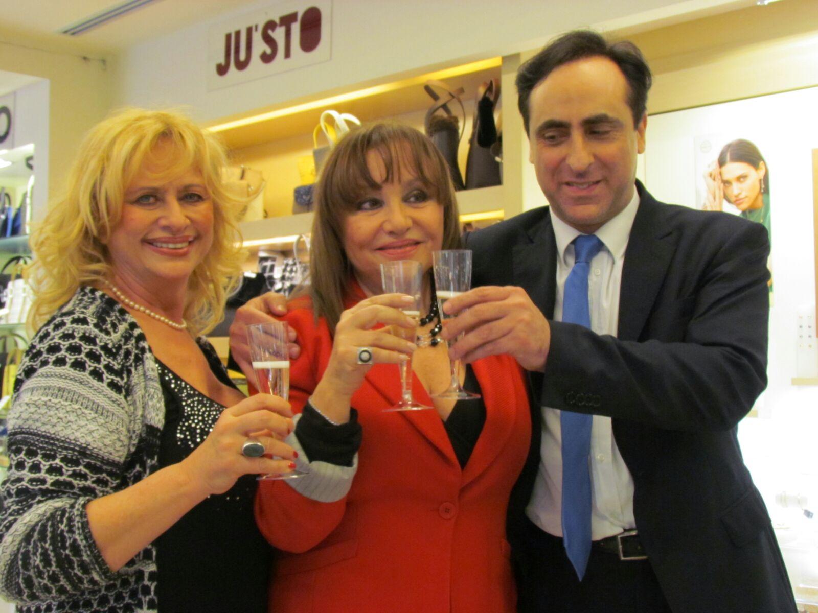 Luciana Frazzetto, Adriana Russo e Antonello De Pierro
