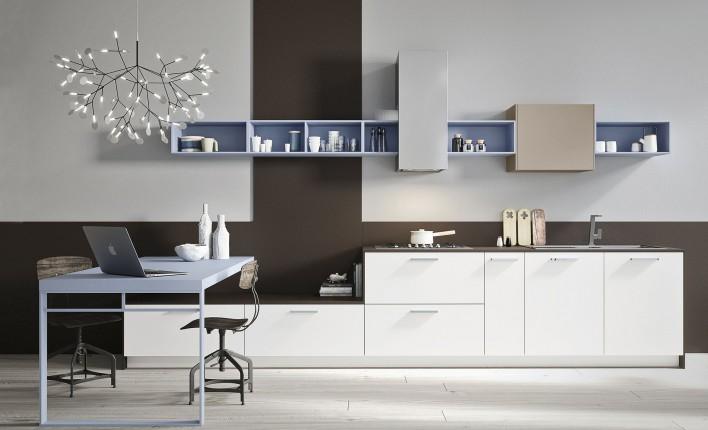 I vantaggi delle cucine moderne con disposizione lineare