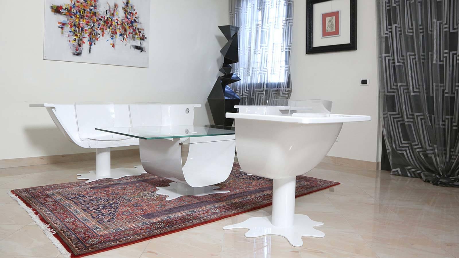Soluzioni di design per l arredo del salotto prodotti for Soluzioni salotto