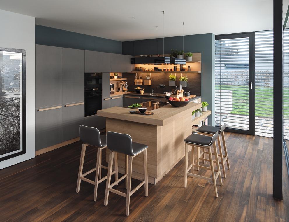Ceramica e legno naturale, TEAM 7 presenta la nuova cucina ...