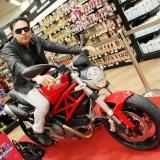 Taft win Ducati: il sogno Ducati Monster è diventato realtà per un altro consumatore di Taft