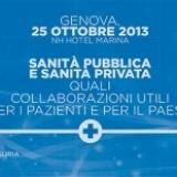 Si terrà il 25 Ottobre a Genova il convegno ECM Sanità Pubblica e Privata