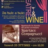 Theatre&Wine: omaggio a Spartaco Compagnucci