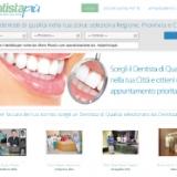 Su DentistaPiù l'odontoiatria di qualità è a portata di clic