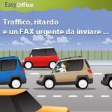 Traffico, ritardo e un FAX urgente da inviare… arriva Easy Plan, l'abbonamento senza pensieri di EasyOffice