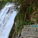 Urlatoarea, cascata dalle montagne Bucegi, Romania