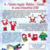 A Natale regala Babbo Natale in una chiavetta USB!