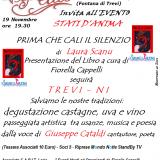 Prima che cali il silenzio di Laura Scanu al Club Vip Innamorati di Roma il 19 novembre