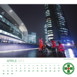 "E' disponibile il Calendario Benefico 2014 ""GranMilano"" di Croce Verde"