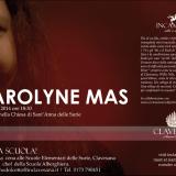 """Il 12 gennaio Carolyne Mas e' al """"Rock & the Wine"""" di Clavesana, l'unica rassegna enomusicale """"roots"""" d'Italia"""