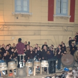 MACERATA CAMPANIA E' IN FESTA CON I BOTTARI E LA MUSICA PASTELLESSA  di Antonio Castaldo