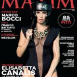 Il mensile MAXIM inizia il 2014 alla grande e pieno di buoni propositi