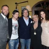 GIO' DI TONNO, GIULIA LUZI E DAVIDE MERLINI ospiti all' inaugurazione della FATTORIA DEI MATTI