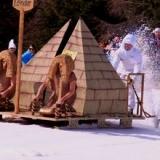 Crazy Bob, sfida pazza sulla neve a Forni di Sopra