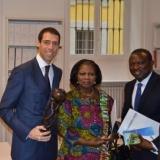 Spadafora - De Rosa con l'Ambasciata del Ghana incontra gli imprenditori per fare affari in Ghana