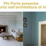 LA PORTA NELL'ARCHITETTURA DI INTERNI