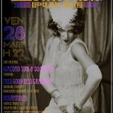 Venerdì 28 marzo Electroswing Pulse con Rosantique pin up dj + Giacomo Toni & 900 band @ Arci Bellezza Milano