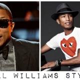 Pharrell Look: orecchini uomo, fantasie e i must have del suo stile