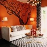 Dipingere le pareti di casa – L'arancione