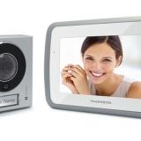 Videocitofono a colori Thomson: più comfort, tecnologia CCD e maggior vigilanza