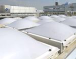 Lucernari e cupole di Tecnocupole Pancaldi: massima luminosità ed elevate prestazioni energetiche