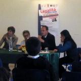"""Il Sindaco di Corleone Lea Savona con Saverio Masi contro l'omertà: """"La trattativa Stato-Mafia sia spiegata agli studenti"""""""