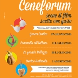 """""""Ceneforum"""", al Castello di Arechi i film si gustano"""