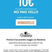 NOMASVELLO: AL VIA CO-BRANDING CON WANDERIO