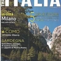 Dedicata alle Dolomiti Friulane la copertina di That's Italia, nuova rivista di viaggio