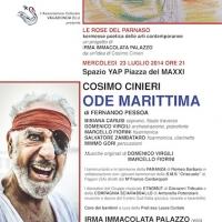 Il rapsodo COSIMO CINIERI in ODE MARITTIMA di Fernando Pessoa