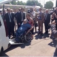 ROLFI Citroën Berlingo Freespace for All : primo Taxi ecologico a pianale ribassato per disabili