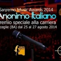 Anonimo Italiano al Sanremo Music Awards 2014