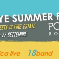 Goodbye Summer Festival: mega concerto di fine estate a Roma il 26 e 27 settembre
