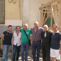 VILLARICCA FESTA DEL GIGLIO CON OBELISCO E PARANZA DELL'ASSOCIAZIONE ONLUS