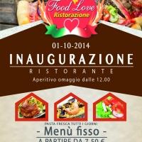 Food Love: non solo self service e tantissime novità…!!!