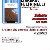 Ciro Pinto alla Libreria Feltrinelli di Pescara