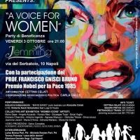 A Voice for Women: una sola voce per dire no alla violenza di genere