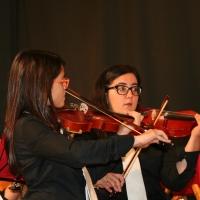 Morano Calabro (Cs) - La Giovane Orchestra si esibisce alle falde del Pollino.